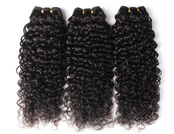 Good Quality 100% Brazilian Virgin Hair & Double Weft Peruvian Human Hair Weave 10 Inch - 30 Inch Natural Curly on sale