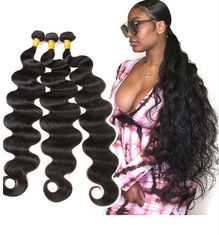 Good Quality 100% Brazilian Virgin Hair & 28 Inch 100% Peruvian Virgin Hair Body Wave Extensions 10A Grade on sale