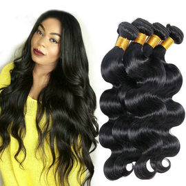 Good Quality 100% Brazilian Virgin Hair & 20 Inch Hair Extensions 100% Brazilian Body Wave / Virgin Remy Human Hair on sale