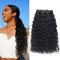 Good Quality 100% Brazilian Virgin Hair & Dyeable Bleachable Real 100% Indian Human Hair Extensions For Black Women on sale