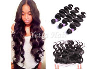 China 7A Peruvian Lace Top Closure Virgin Body Wave Hair 13'' X 4'' Ear To Ear factory
