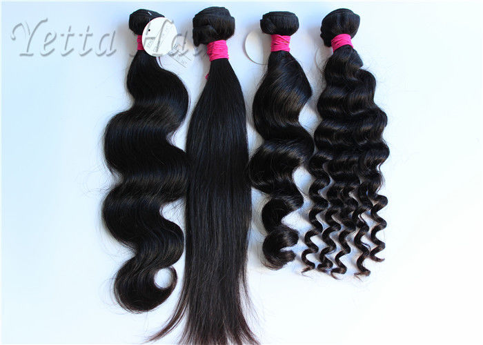 Wet And Wavy Weave Virgin Human Hair Extensions Can Be Bleached