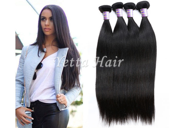 8inch 30inch No Lice Soft Straight Virgin Peruvian Hair Weave