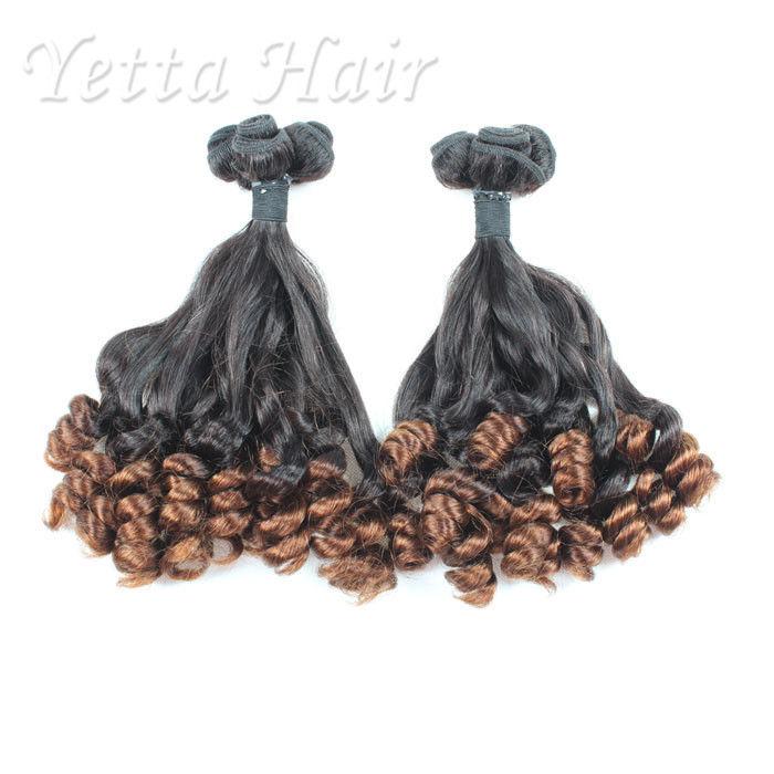 Professional 100 Peruvian Aunty Funmi Human Hair Double Drawn