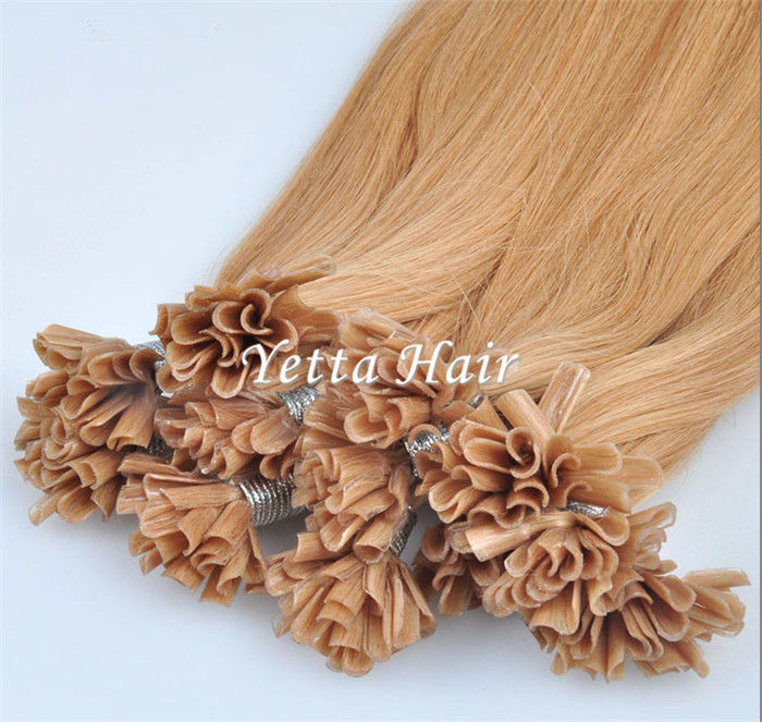 Italian Stick U Tip Pre Bonded Hair Extensions No Shedding No Tangle
