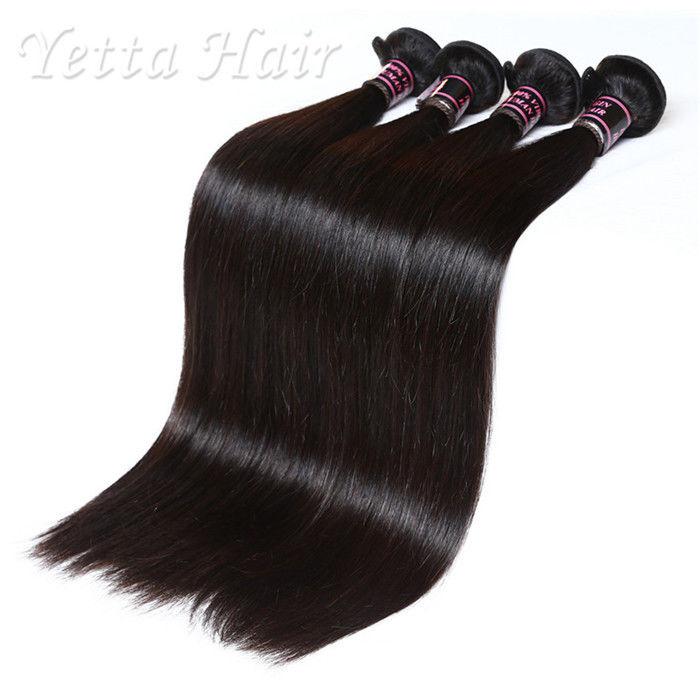 Soft 20 Inch Indian Remy Hair Extensions Straight Hair Weave No