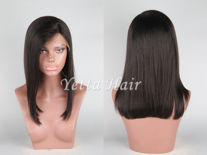 Glueless Short Full Lace Front Wigs Human