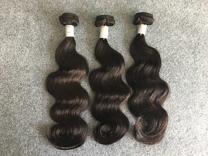 Real Peruvian Human Hair Extensions Full And Thick Hair Bundles None
