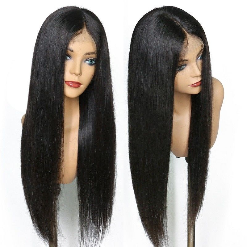 150% Density Brazilian Full Lace Human Hair Wigs With Baby Hair For Black Women