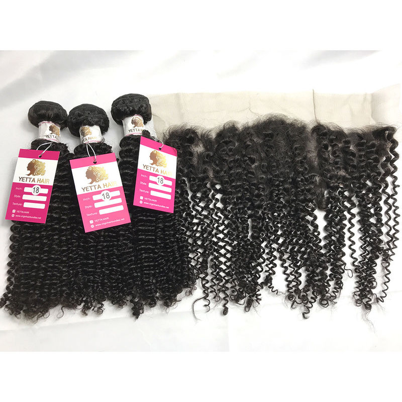 100 % Unprocessed Peruvian Human Hair Weave Curly Remy Hair Extensions