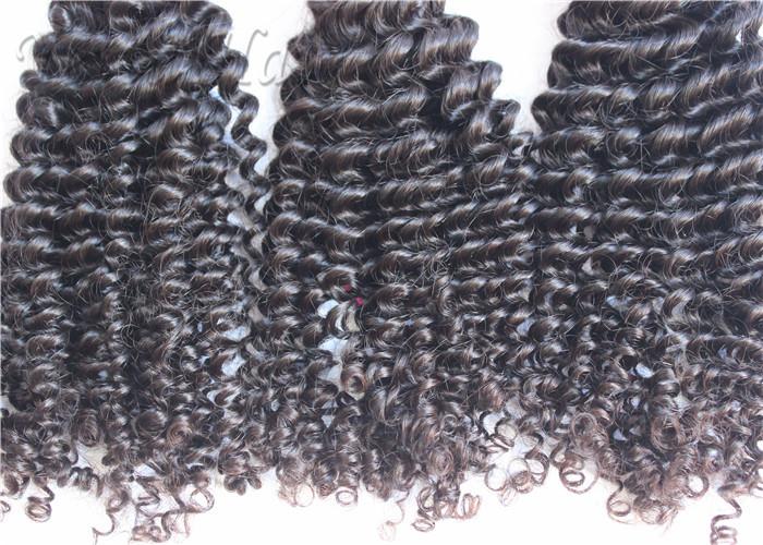 Soft Kinky Curly 100 Brazilian Virgin Hair Weave For Dream Girl