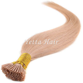 China Double Drawn Pre Bonded Keratin Hair Extensions With Simplicity Elegant factory