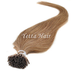 China Full Cuticle Double Drawn Pre Bonded Hair Extensions No Foul Odor factory