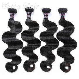 Grade 7A Natural Color 100 Indian Human Hair Weave With Body Wave