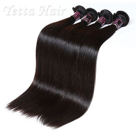 Soft 20 Inch Indian Remy Hair Extensions , Straight Hair Weave No Mixture