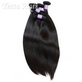No Synthetic Cambodian Straight  Hair , Double Wefted Hair Extensions Easy To Color