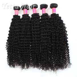 China Long Lasting Grade 6A Brazilian Hair Kinky Curly Weave With Tangle Free factory