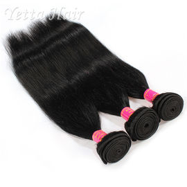 China No chemical  6A Indian  Remy Hair Extensions With Soft and Luster factory