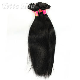 China Soft Black 6A Virgin Brazilian Hair Can Be Dyed any Color and Ironed factory