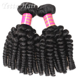 No Shedding No Tangle Brazilian 6A Virgin  Hair Extensions Africa Curl  Weave