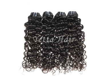 China Customized Durable Brazilian Deep Curly Hair Weave , Real Remy Hair With Full Head factory