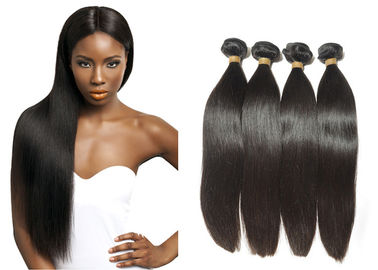 Popular Durable Indian Human Hair Extensions , Clean / Smooth Virgin Remy Straight Hair