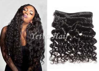 Bouncy Natural Wave Virgin Brazilian Curly Hair Extensions For Dream Girl