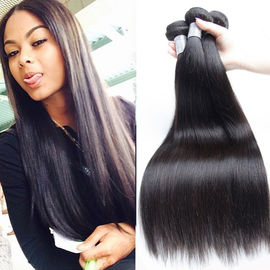 "Unprocessed Straight Hair Peruvian Human Hair Weave 10""-34""Available"