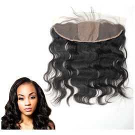 Ear To Ear Silk Base Lace Front Hair Closure With Hidden Knots Body Wave