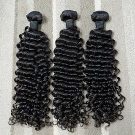 7A Curly Virgin Malaysian Hair Extensions Original Human Hair Tangle Free