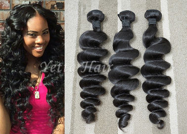 Malaysian Hair Weave Bundles Loose Wave Hair Extensions Thick Hair Ends