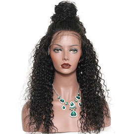 China Glam 180 Density Brazilian Virgin Full Lace Human Hair Wigs With Baby Hair factory