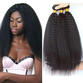 Yaki Straight 100% Brazilian Virgin Hair Extensions Natural And Full