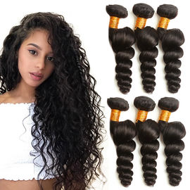 100 Grams Virgin Human Hair Extensions Natural Color 2 Years Service Life