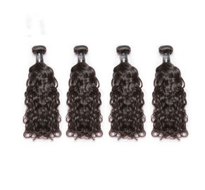 China 3.5OZ Water Wave Virgin Hair / 100% Indian Remy Human Hair Extensions factory