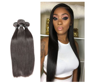 China Healthy And Thick End 100% Indian Remy Human Hair Weave Natural Color For Ladies factory