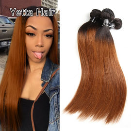 China Comfortable 1B/30# Color Human Ombre Hair Extensions For Women CE BV SGS factory