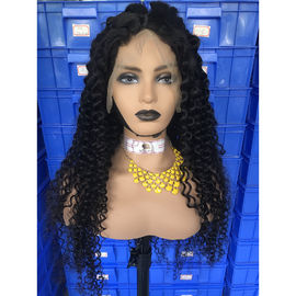 Tangle Free Deep Wave 300% Pre - Plucked Lace Front Wig